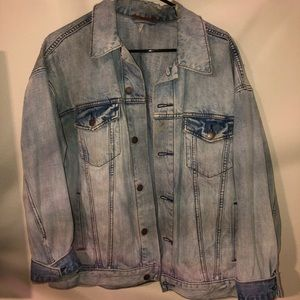 Jackets & Blazers - Free People denim jacket